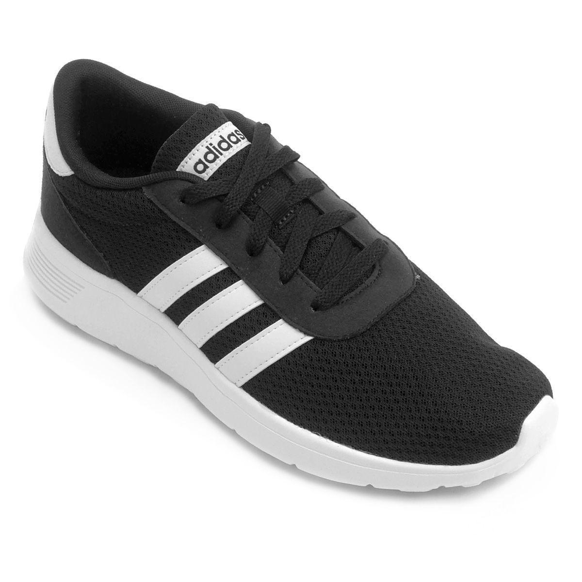 Tênis Adidas Lite Racer Masculino Preto/Branco
