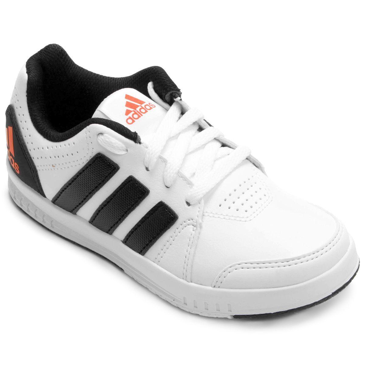 Tênis Adidas Lk Trainer 7 Synth Infantil / Branco - Preto