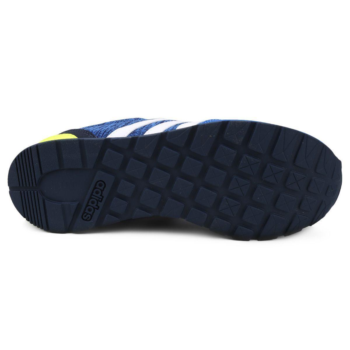bf19d484c7 ... Tênis Adidas V Jog K Infantil   Azul ...