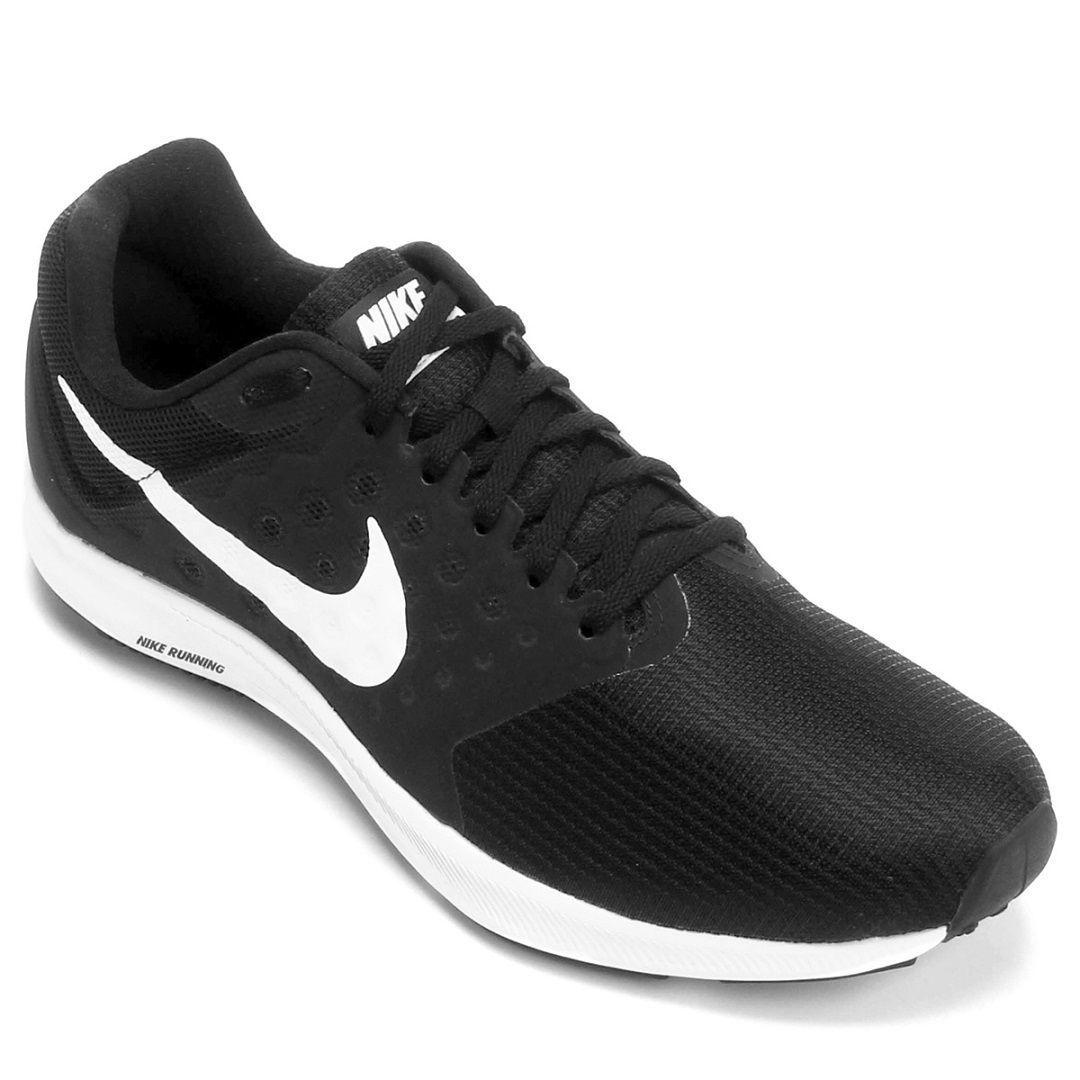 Tênis Nike Downshifter 7 Masculino / Preto - Branco